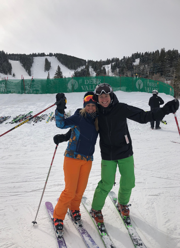 Ski with a Champion at Deer Valley Resort, Utah. Deer Valley Resort Blog. Heidi Voelker.