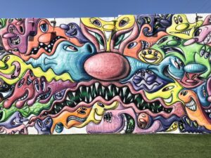 Wynwood Walls Art, Miami Florida