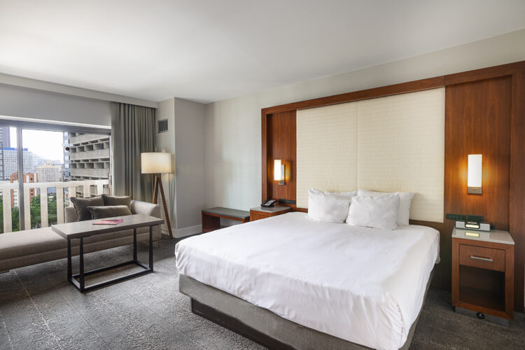 Hotel, Resort, and Architecture Photography - King Bedroom
