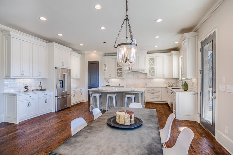 Interior Kitchen of a luxury home in Atlanta, Georgia. Interior Architecture Photography