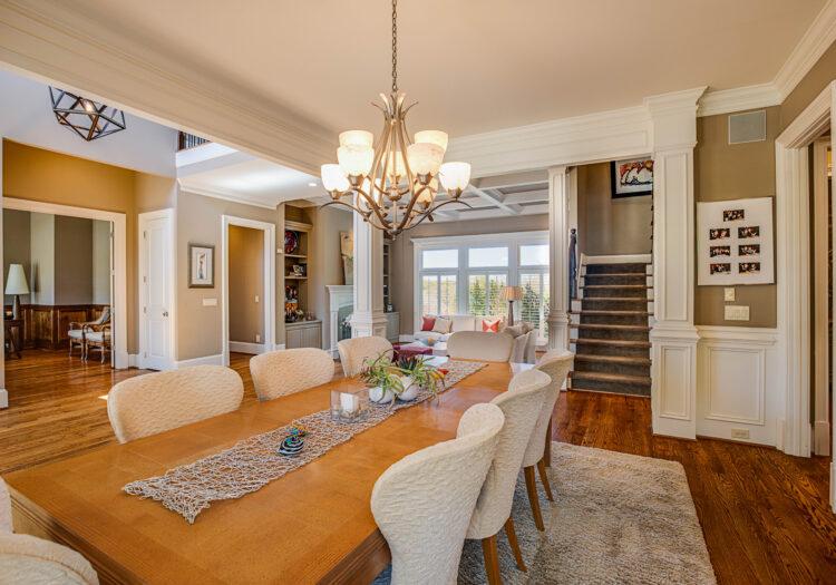 Luxury Home Dining Area