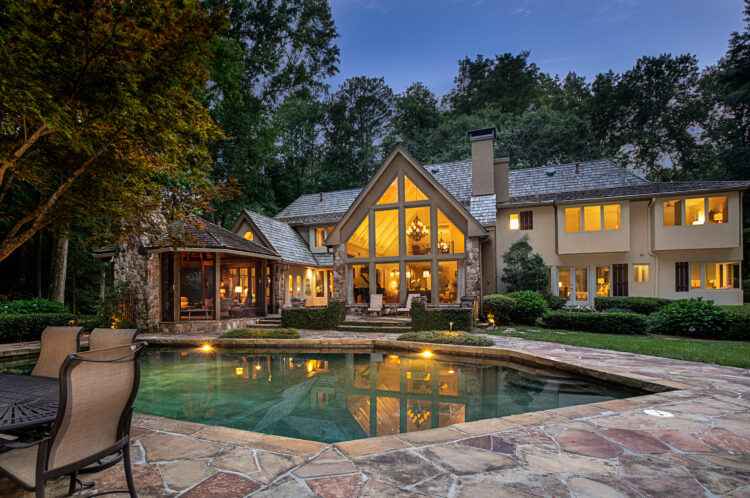 Twilight Luxury Residential Real Estate Home