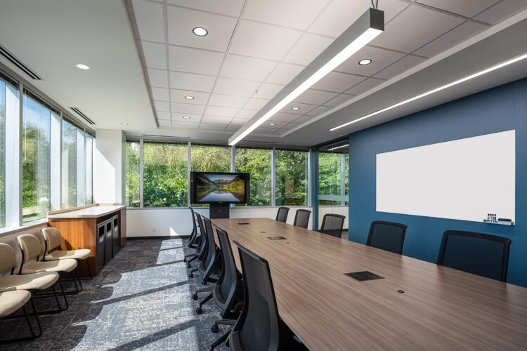 Commercial Real Estate Photo Shoot. Architecture. Conference Room.