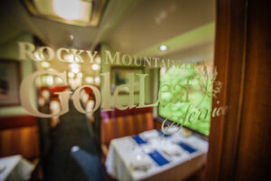 GoldLeaf Service onboard the Rocky Mountaineer