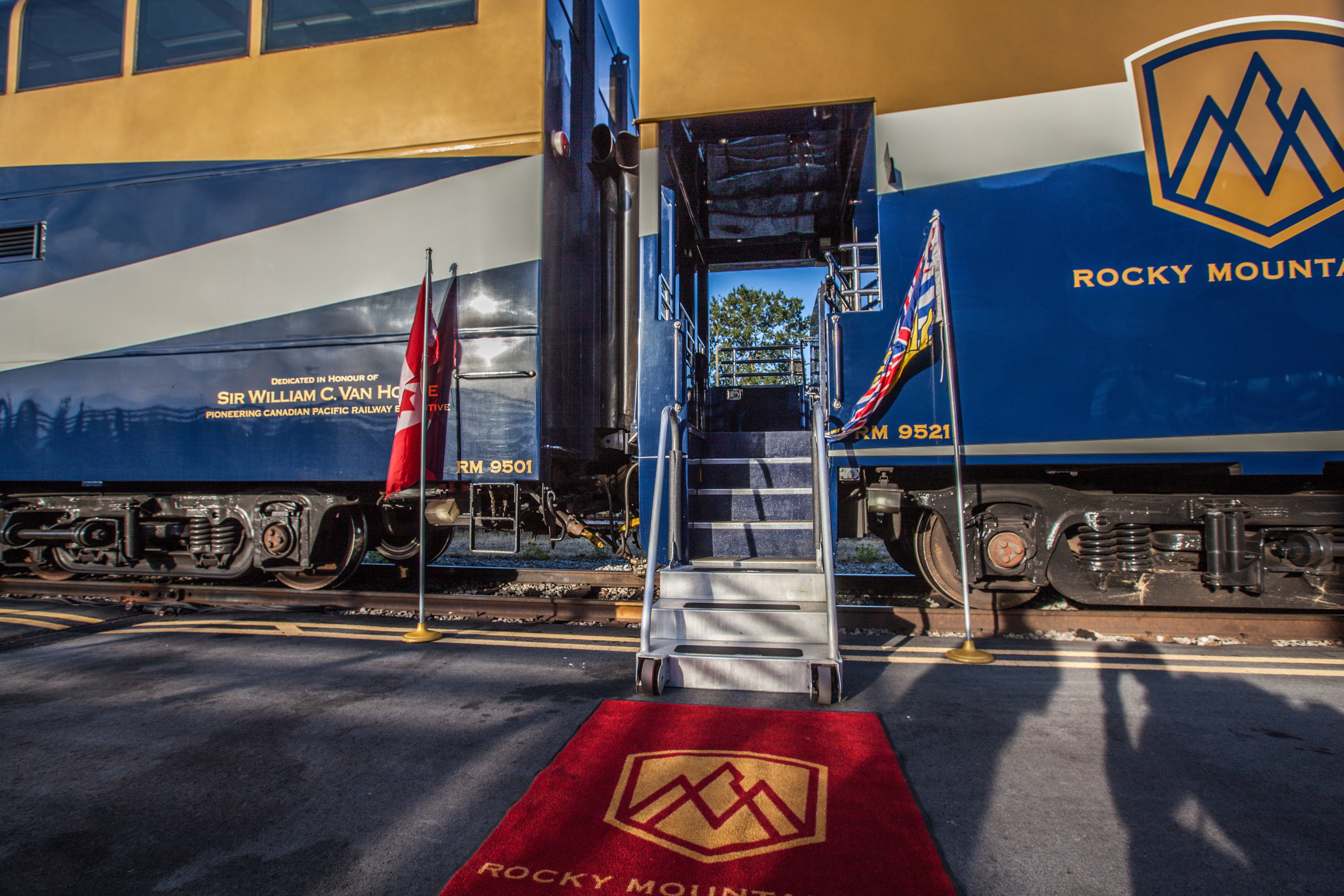 Rocky Mountaineer Welcome