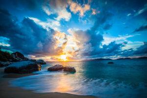 British Virgin Islands Sunset - Fine Art Photography, Travel Photographer
