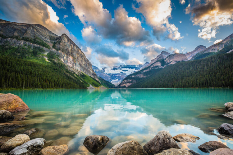 Lake Louise - Banff, Canada. Travel Photography. Fine Art Photography.
