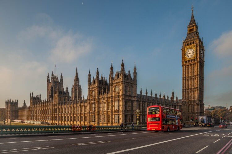 London at Sunrise - Travel Photography, Fine Art Photography