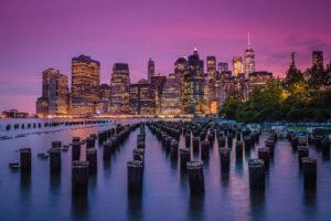 New York Skyline at Dusk - Travel Photographer