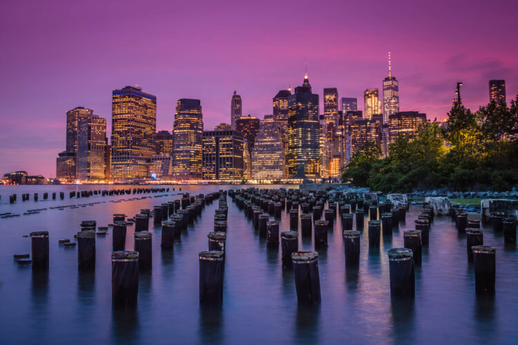 New York Skyline at Dusk - Travel Photographer