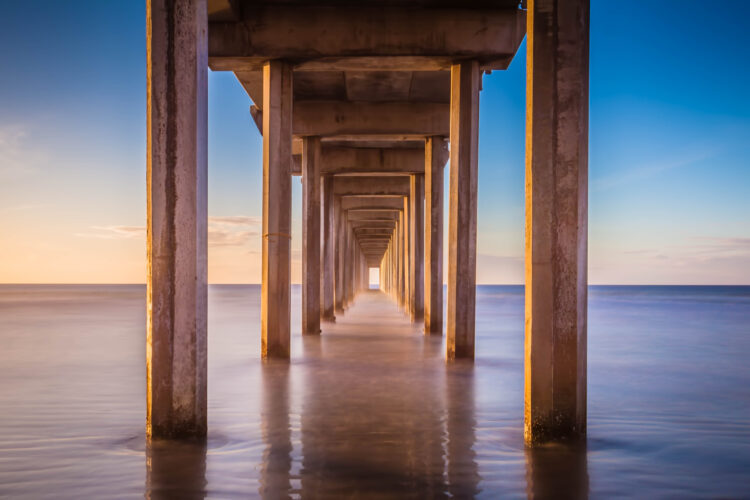 Scripps Pier San Diego Travel Photography
