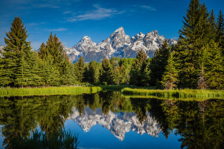 Teton National Park Reflections. Fine Art Photography. Travel Photography.
