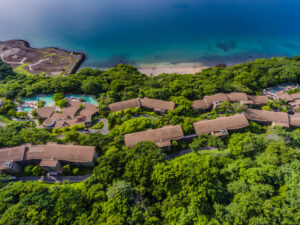 Drone view of Andaz Papagayo