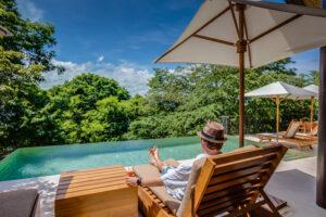 Tropical Drinks and Infiniti Pool