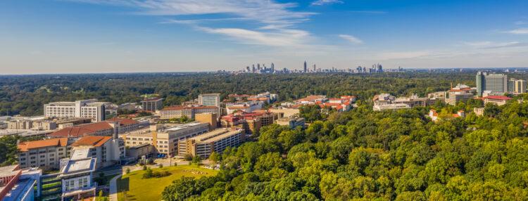 Emory University Aerial Panorama