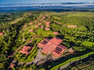 Drone view of Hacienda Alta-Gracia