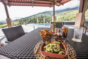 Lunch at Hacienda AltaGracia