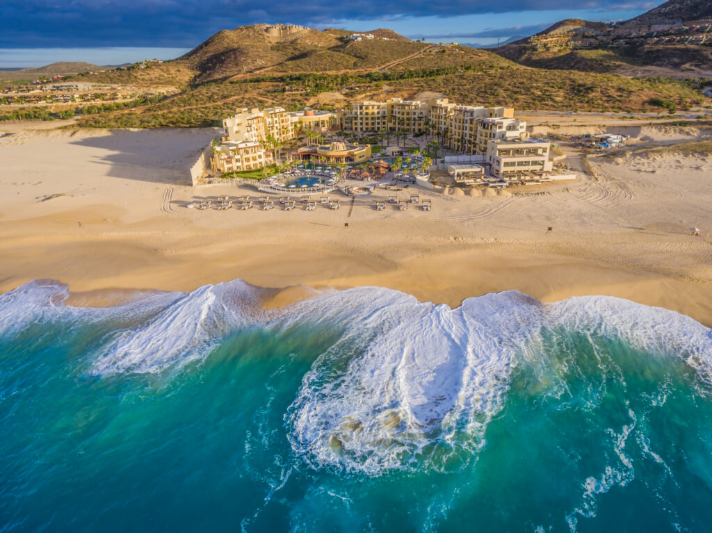 Beach Hotel Drone Photo