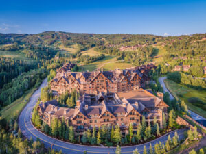 Ritz Carlton Bachelor Gulch Drone