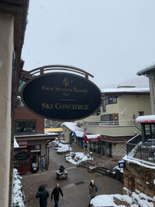 Four Seasons Vail Ski Concierge