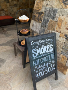 Four Seasons Vail S'mores