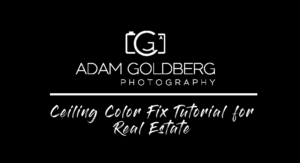 Photoshop Tutorial - Fixing Ceiling Color Cast for Real Estate